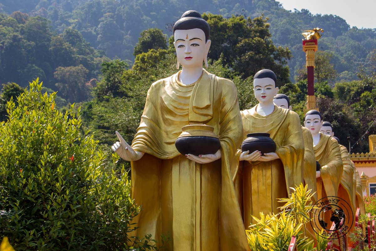 A Buddhist monastery of the Moken people