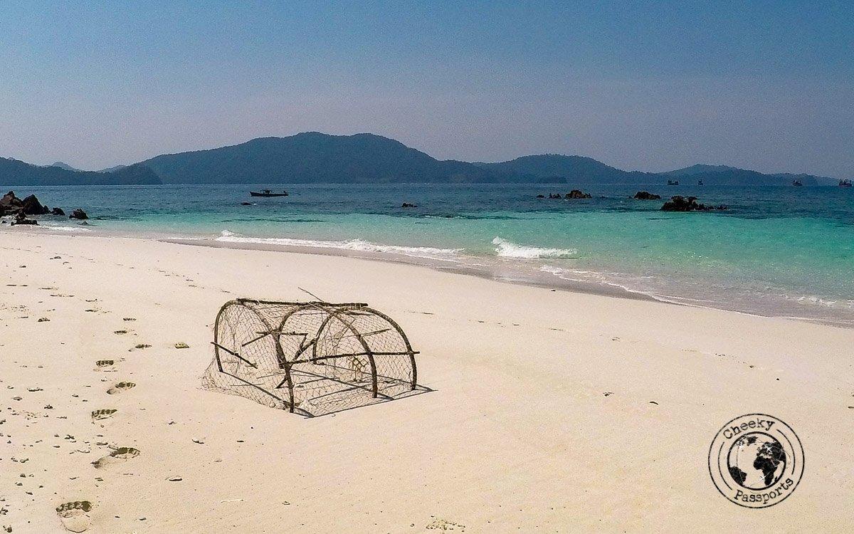 Deserted beaches of the Mergui