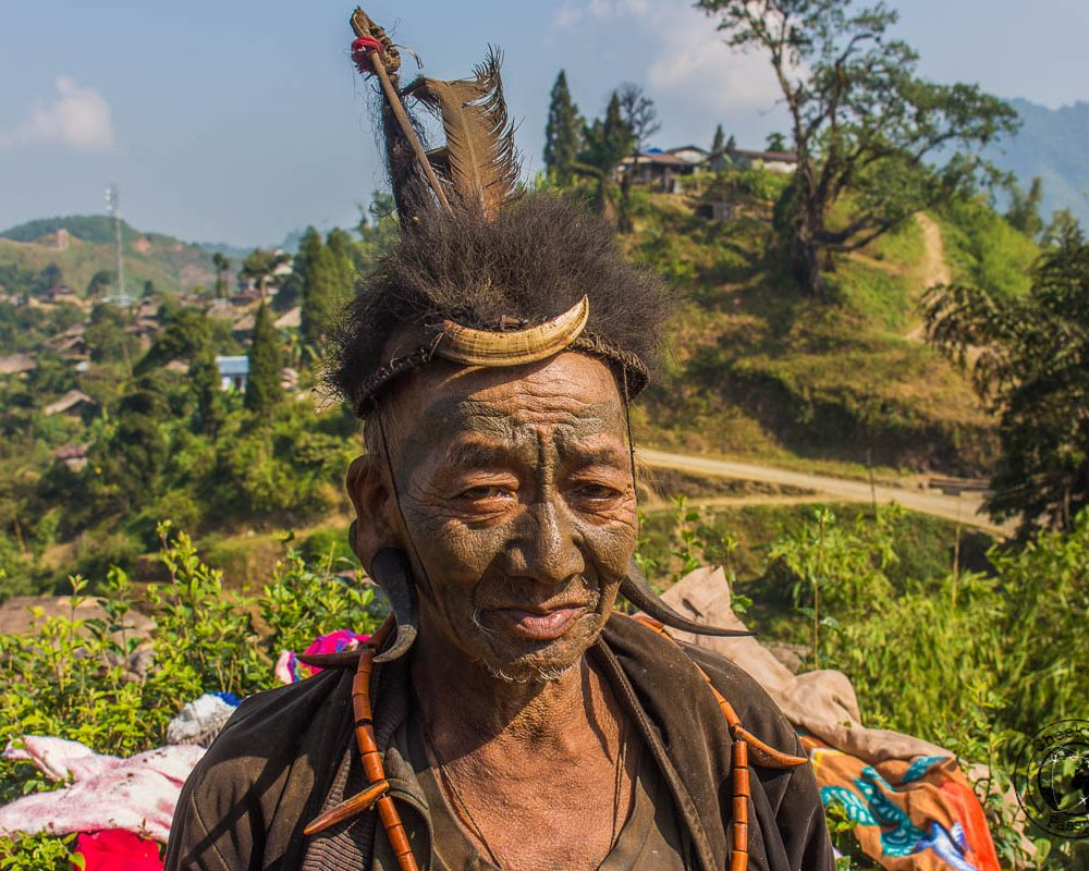 Exploring Longwa Village and meeting the Konyak tribe in Nagaland