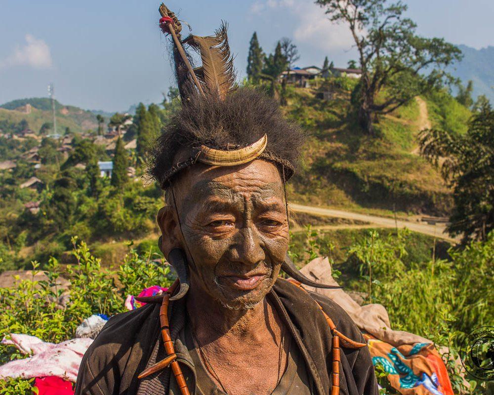 Exploring Longwa Village and meeting the Konyak tribe in Nagaland