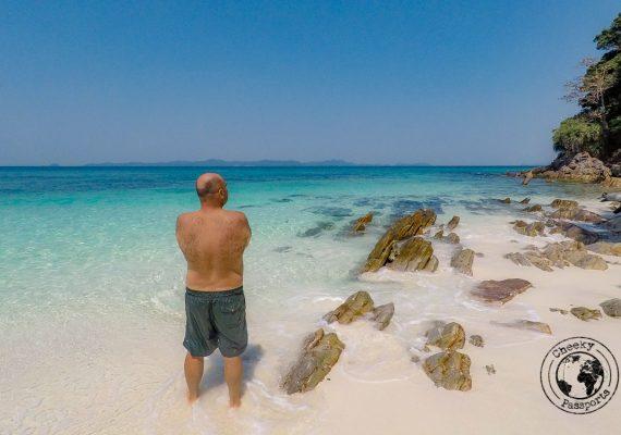 Nikki enjoying the mergui archipelago