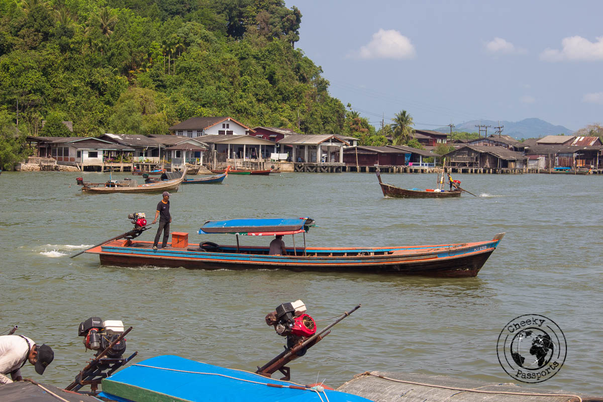 Pickup in Ranong, the gateway to the Mergui