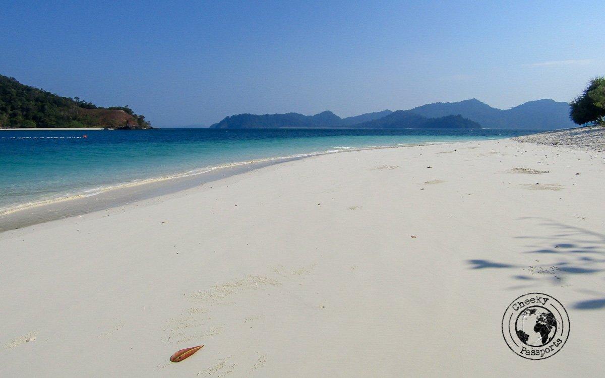 Pristine beaches of the Mergui