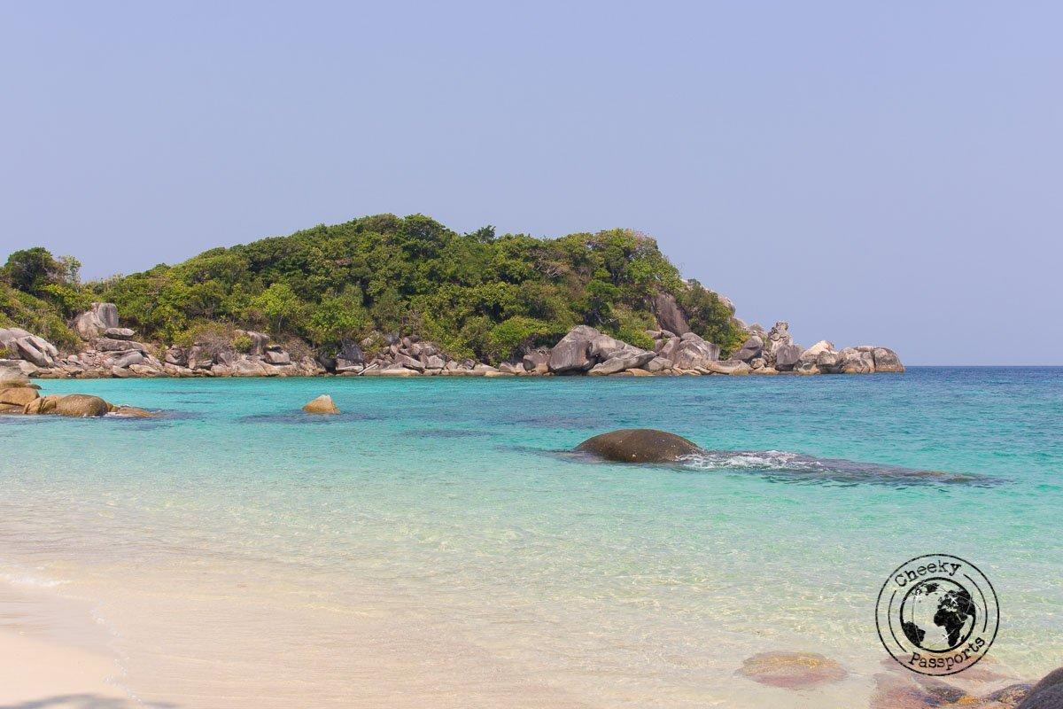 Untouched beaches of the Mergui Archipelago