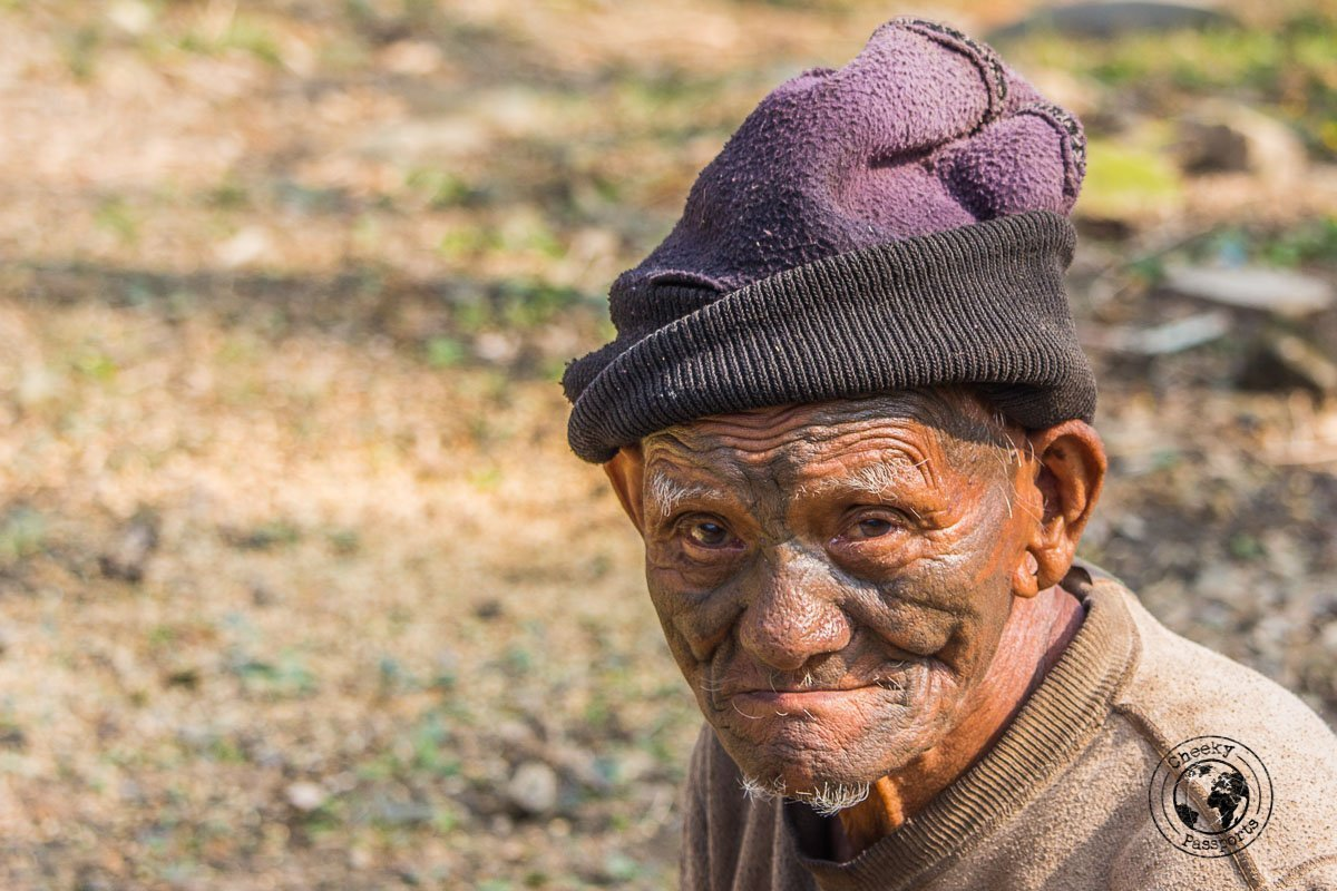What retired headhunters look like - North East India travel guide