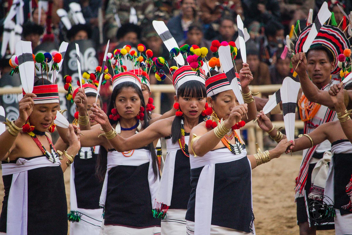 Colourful costumes and rituals of the Naga people at the Hornbill Festival in Kohima