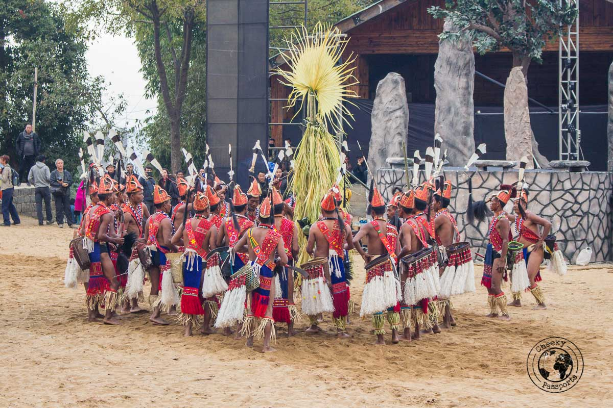 Showcasing ancient anemist traditions at the Nagaland Hornbill Festival
