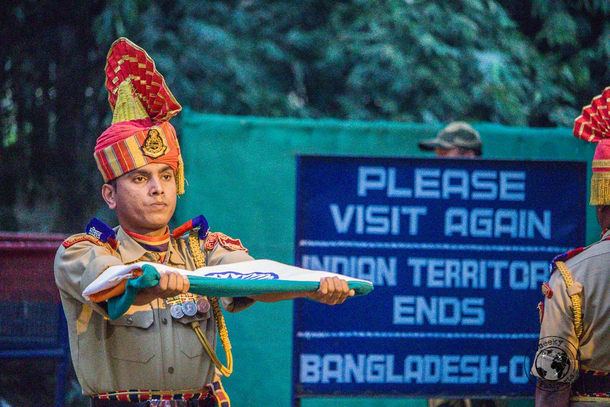 Beating Retreat Ceremony of Agartala is one of the top tourist places in tripura
