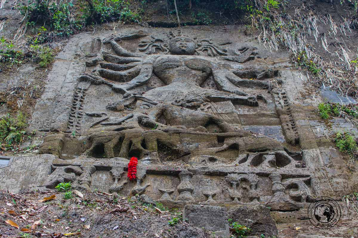 Chiabimura Rock Carvings in Tripura