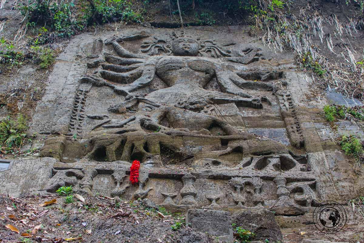 Chiabimura Rock Carvings in Tripura