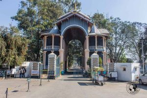 Entance to the Kangla fort in Imphal - Manipur