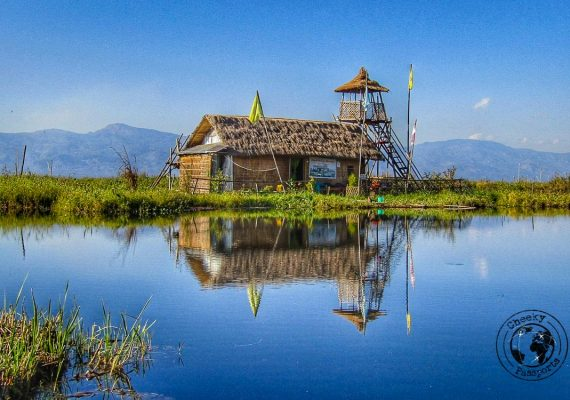 Fancy accomodation at Loktak Lake