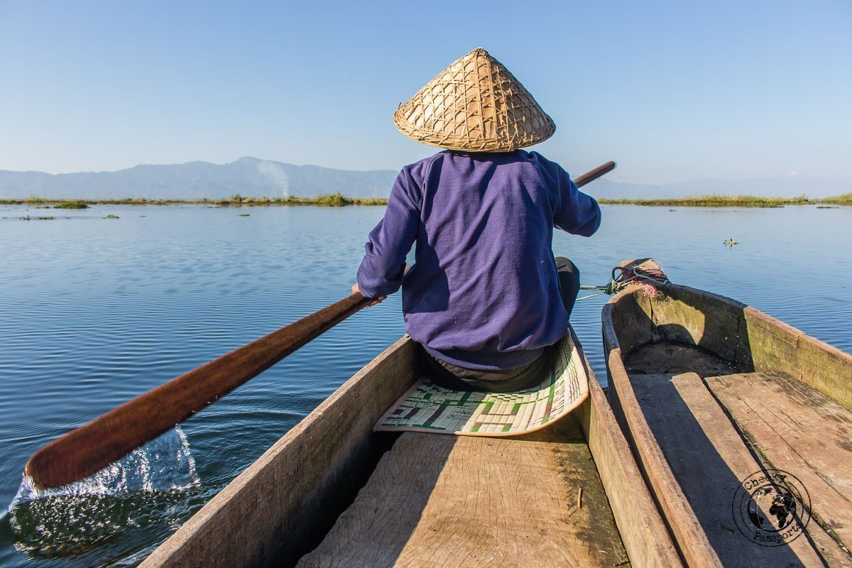 Floating away with our boatsman - Exploring Imphal and Loktak Lake, Manipur - Copy
