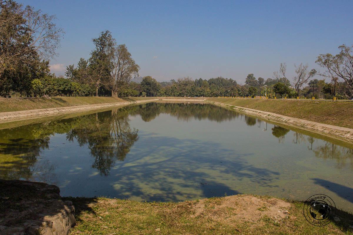 Inside the Kangla Fort in Imphal