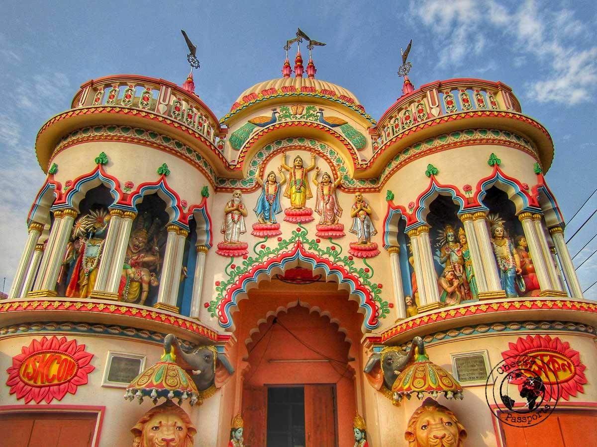 Iskcon Temple in Agartala