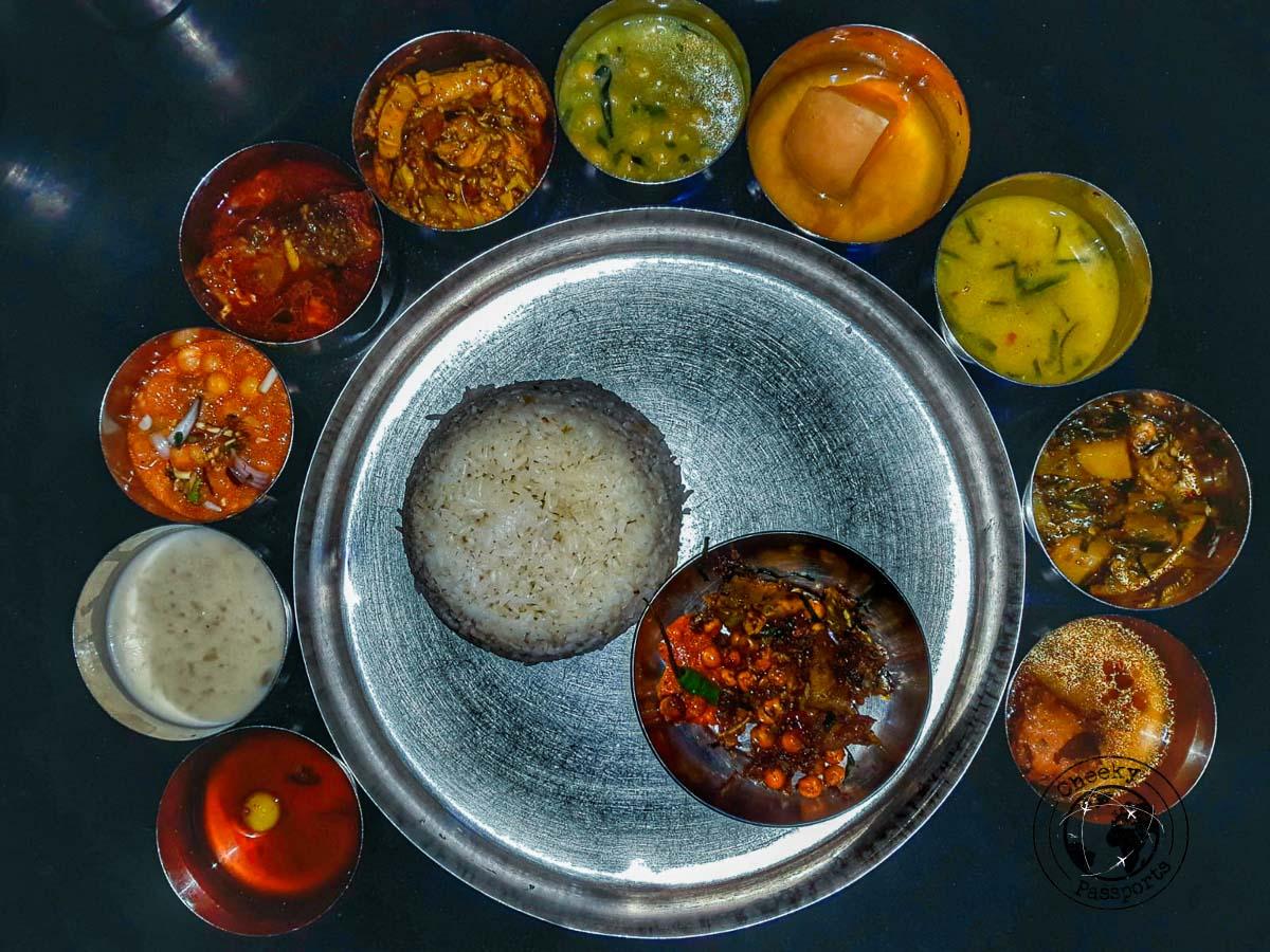 Manipuri Thali