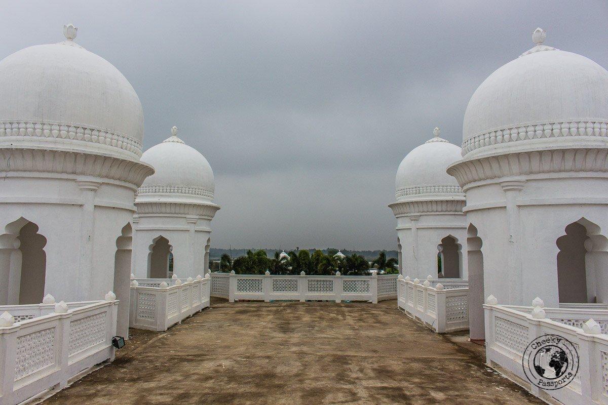 Neermahal water palace detail in Tripura - tourist places to visit in Tripura