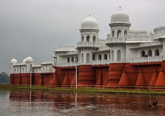 Neermahal water palace in Tripura