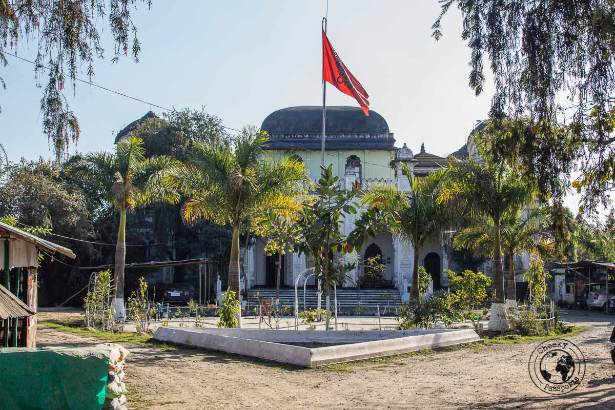 Royal palace in Imphal
