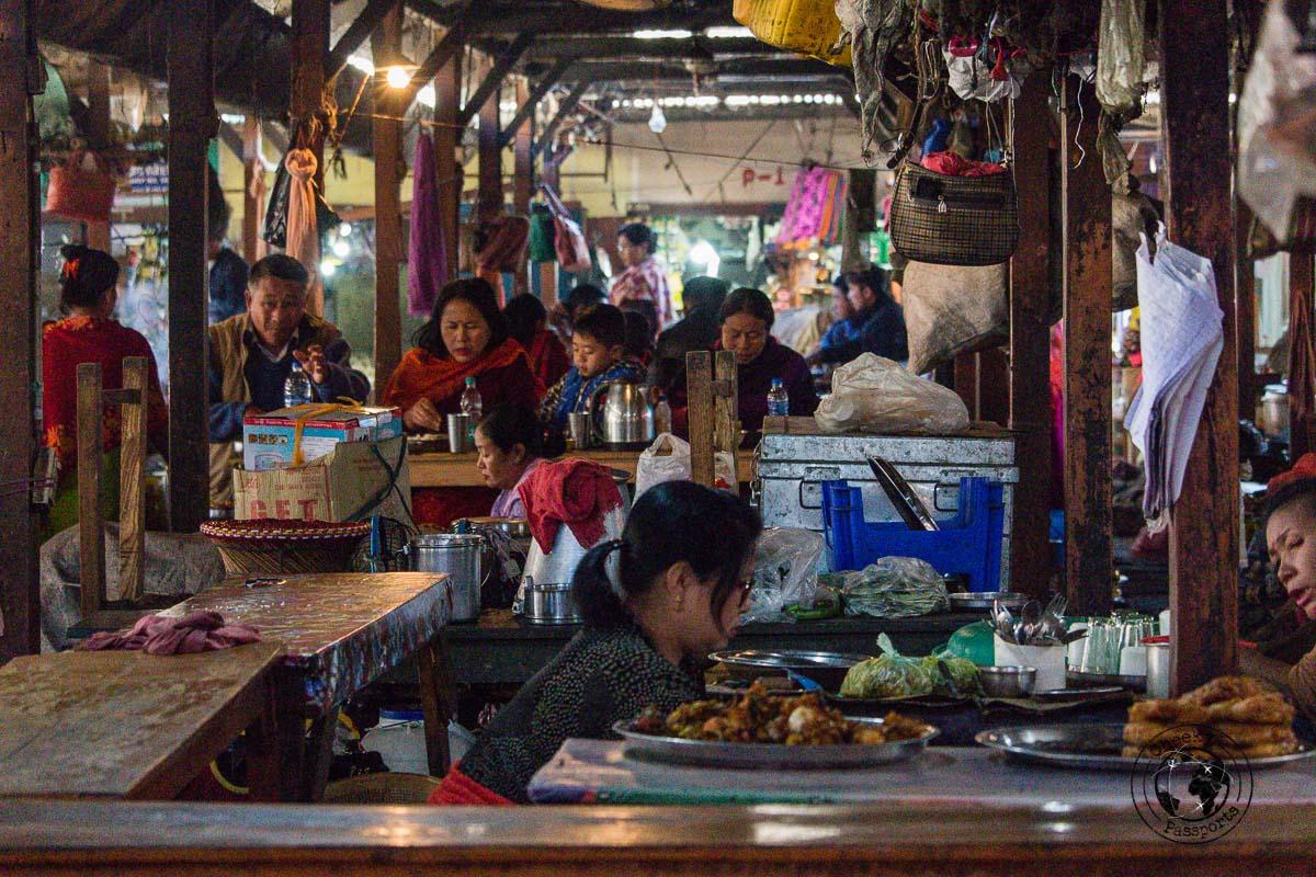 The Ima Keithel (Women's) Market - exploring Imphal Manipur