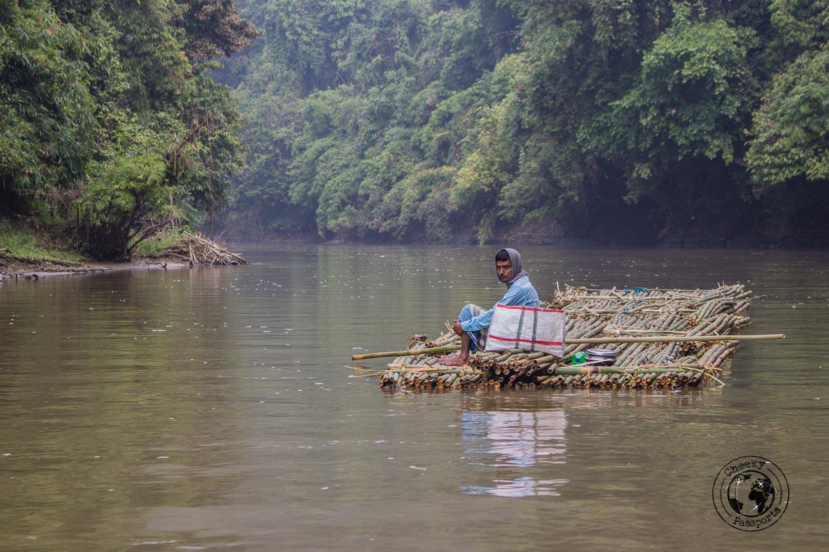 The Lake at Chabimura near Udaipur Tripura