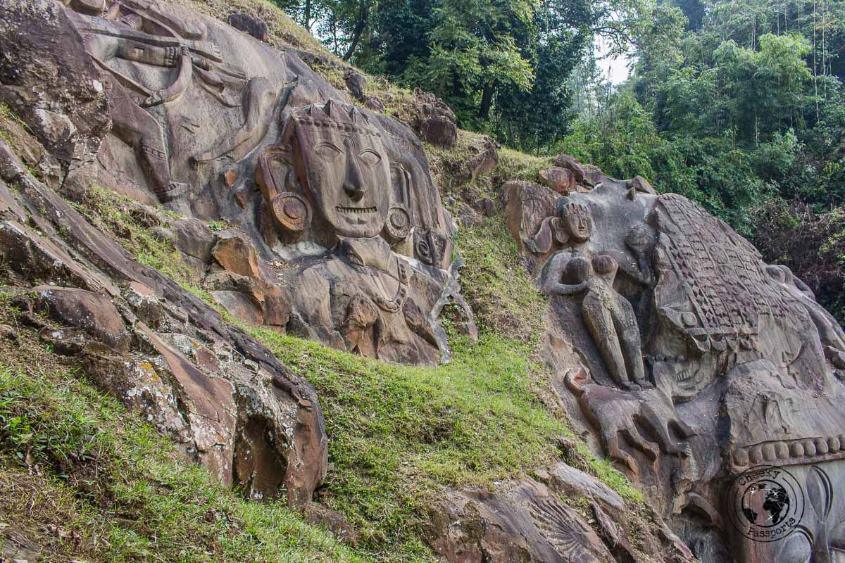 The Unakoti heritage site is one of the top tourist places in tripura