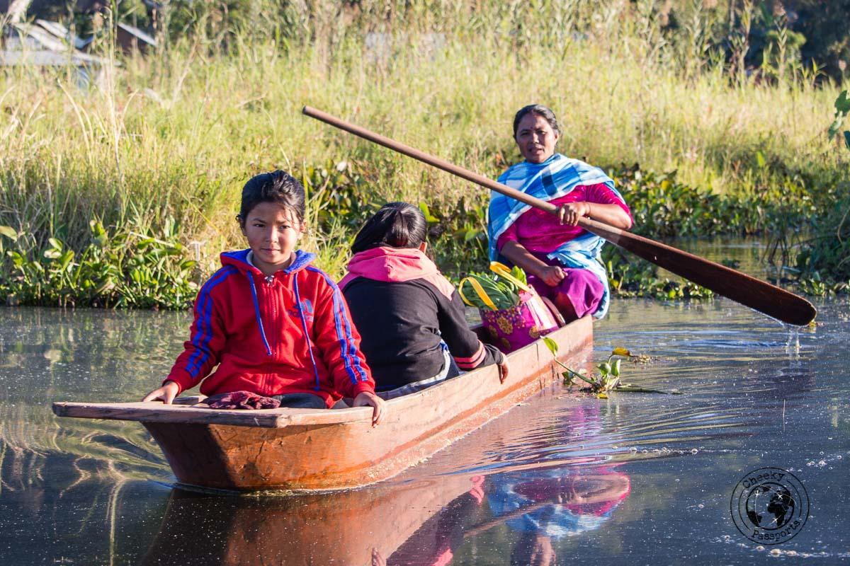 The comunities living at Loktak Lake