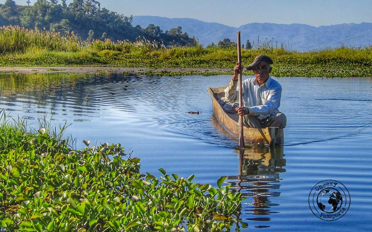 The locals of Loktak lake
