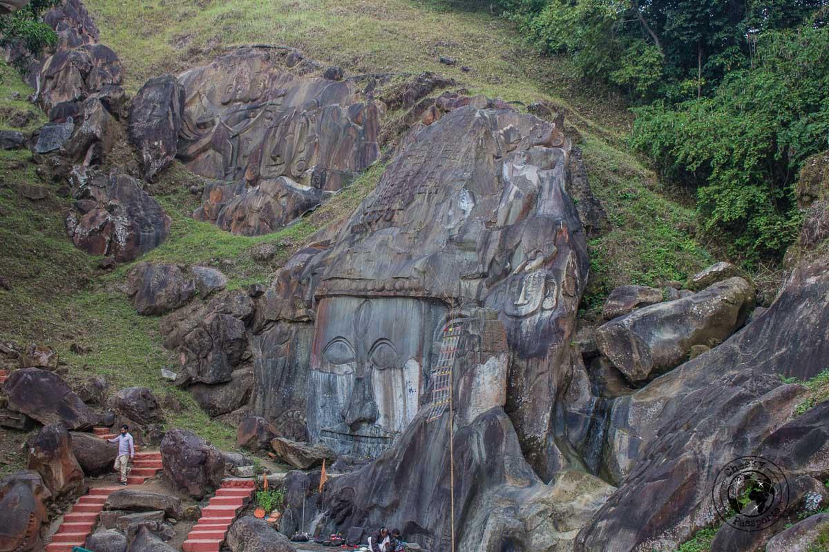 How to Travel Around Tripura to Unakoti