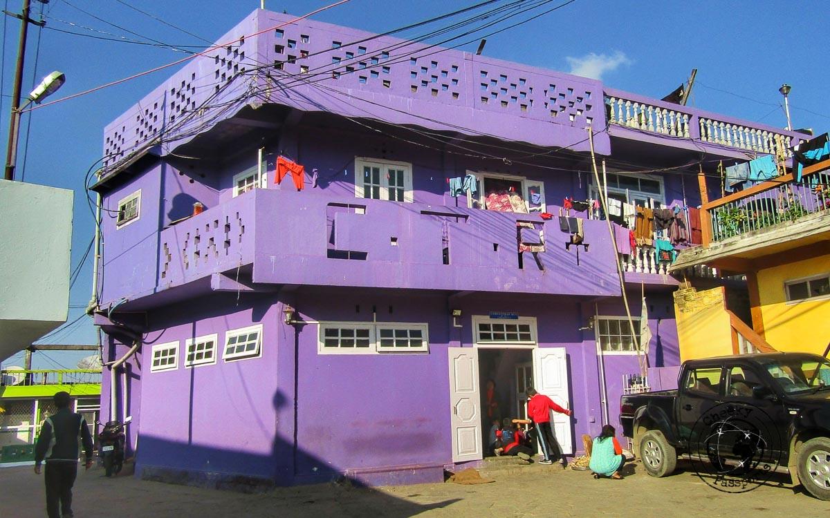 CTR house in Mizoram