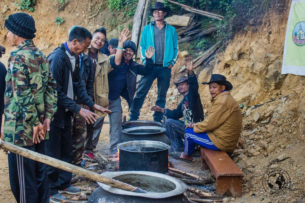 Christmas festivities at Seilsuk Mizoram