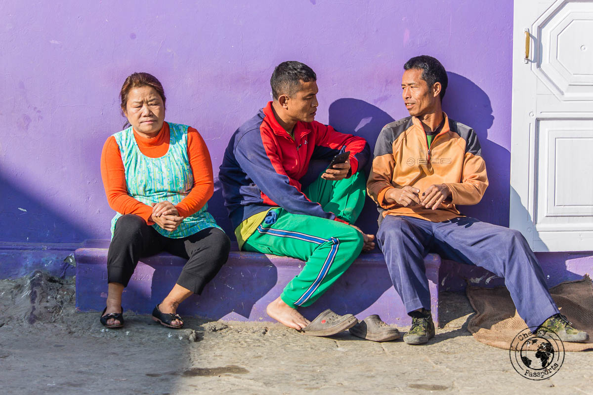 Members of the world's largest family in Baktawng, Mizoram