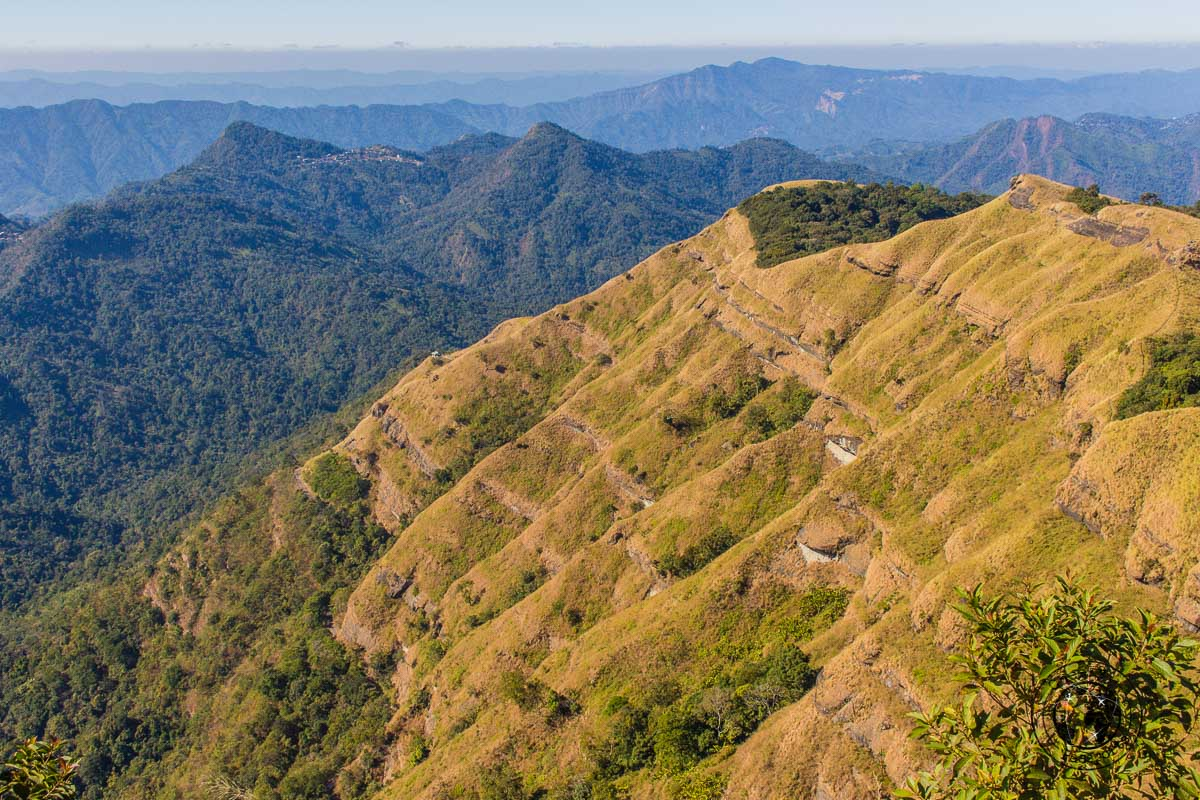 The hills of Mizoram - North East India Travel Guide