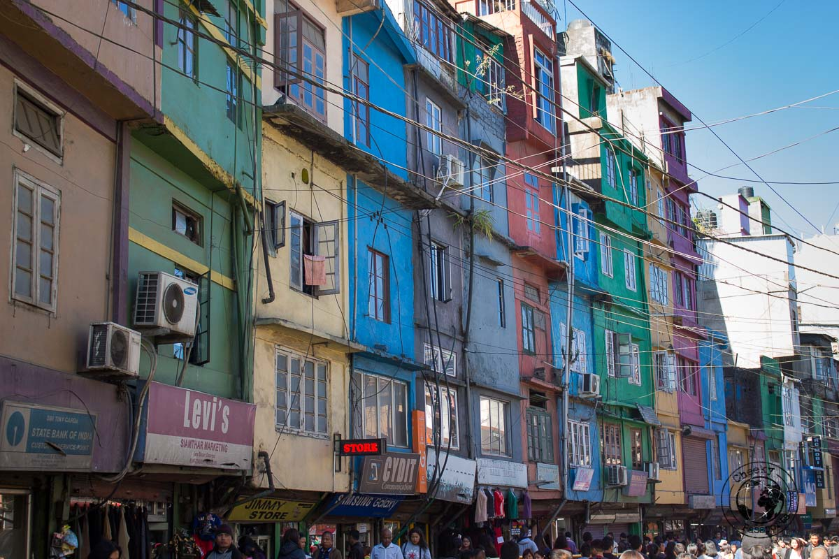 The houses of Aizawl - places to visit in Mizoram
