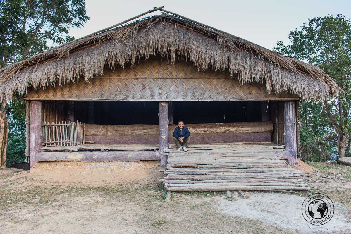 The traditional village of Falkawn, Mizoram - Day trips from Aizawl and plavces to visit in mizoram