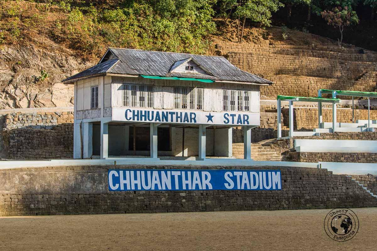 The worlds largest family stadium in Mizoram
