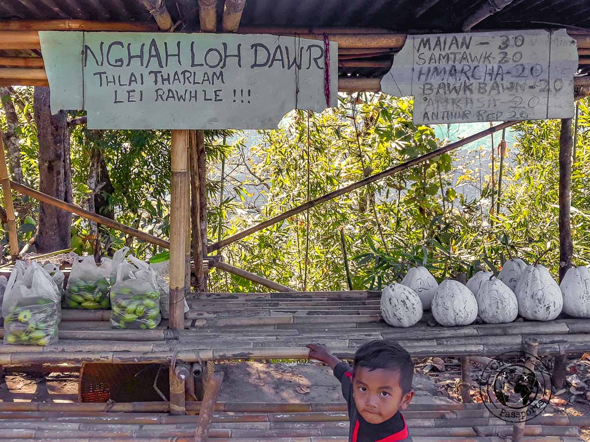 Unmanned stalls in Mizoram