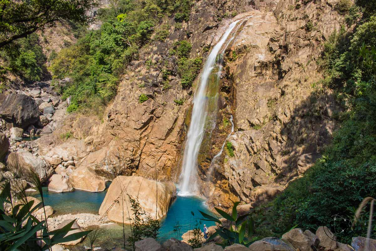 Rainbow falls in Nongirat - Places to visit in Meghalaya