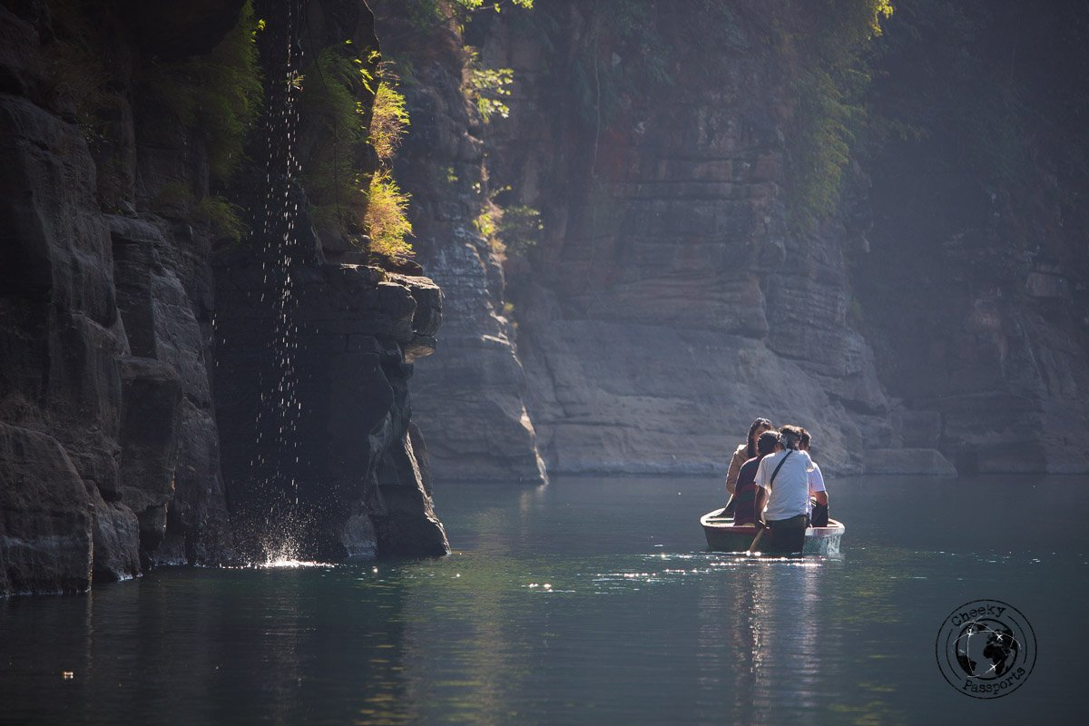 Serenity at the dawki river - Places to visit in Meghalaya