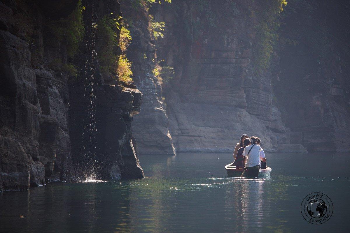 Serenity at the dawki river - Places to visit in Meghalaya