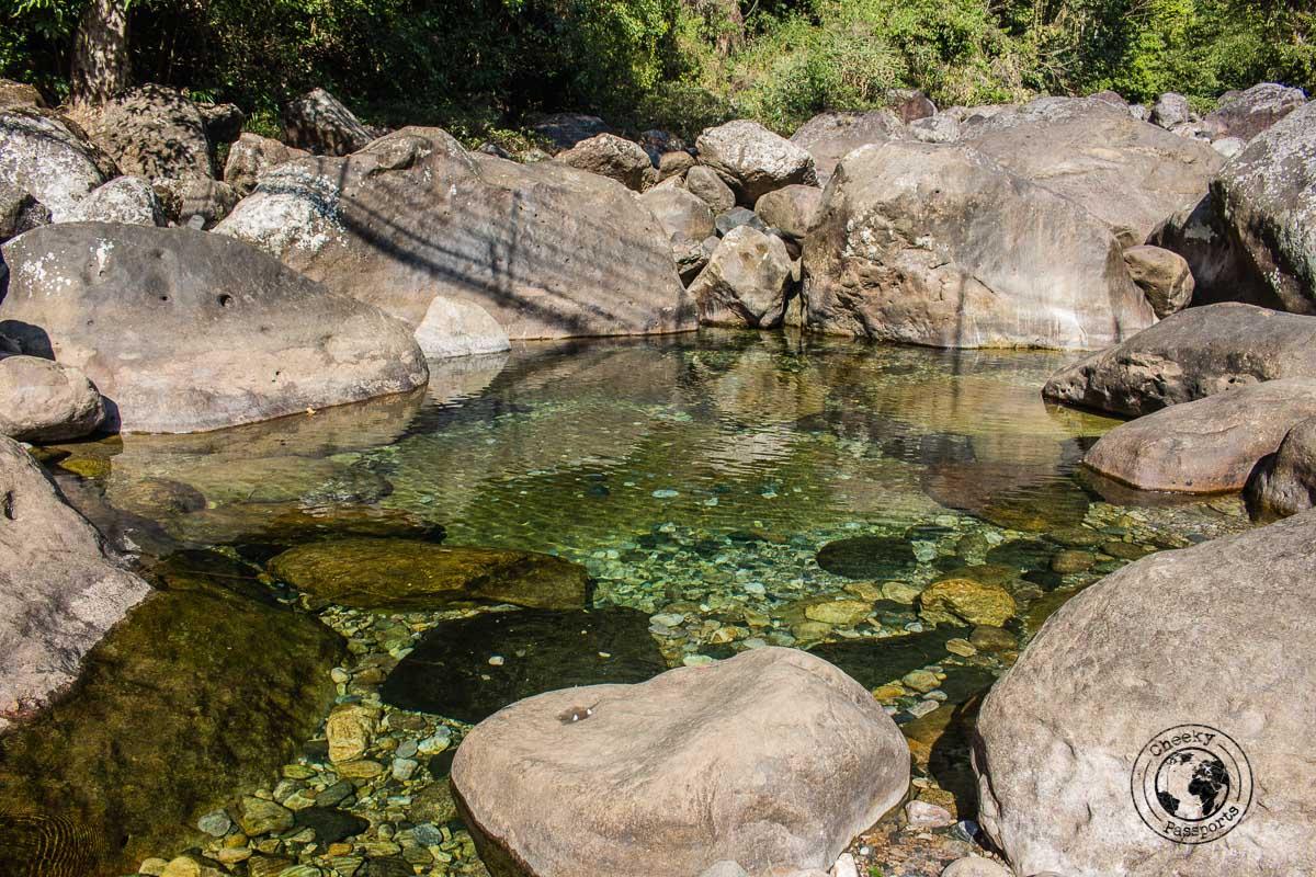 natural pools at nongriat