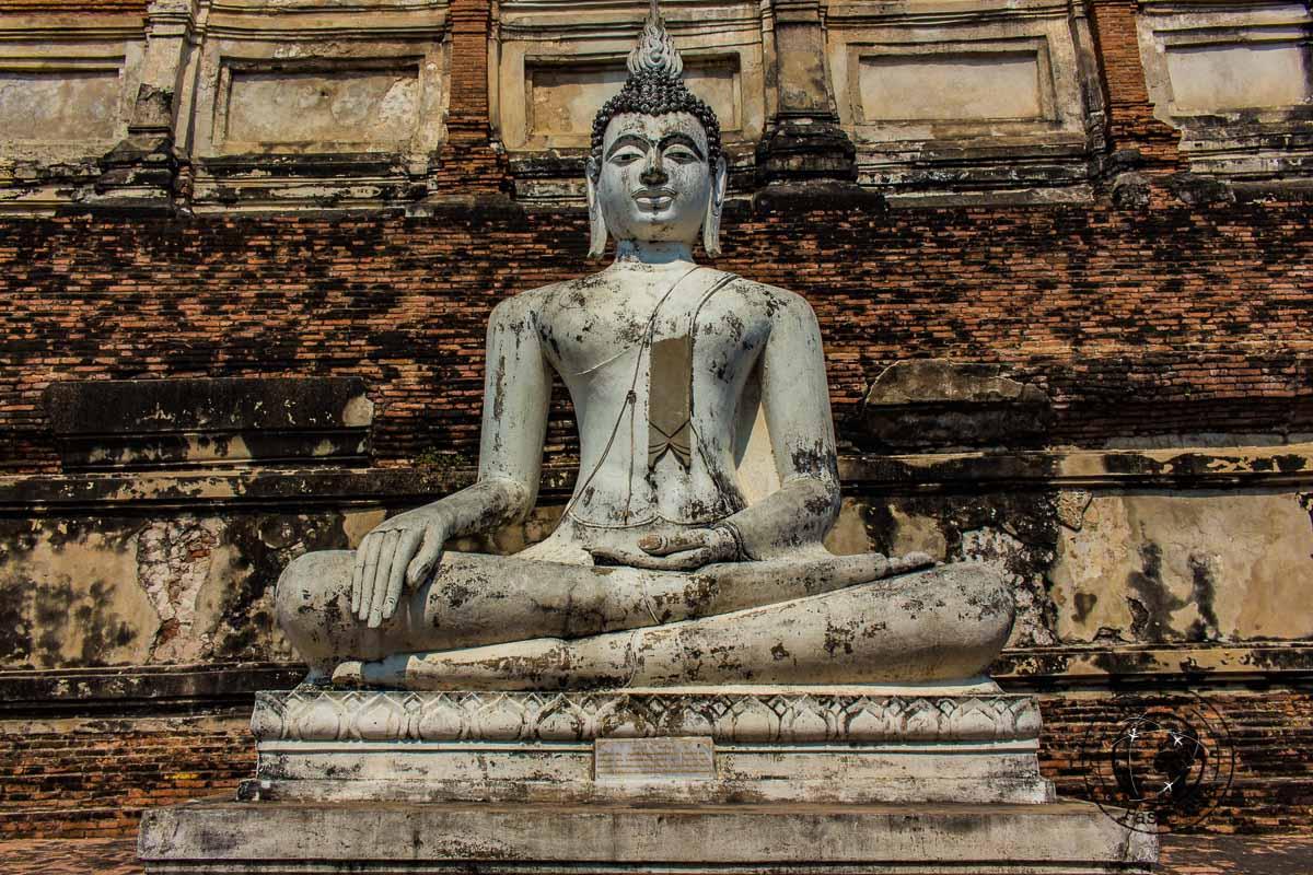 A Buddha Statue at Ayutthaya
