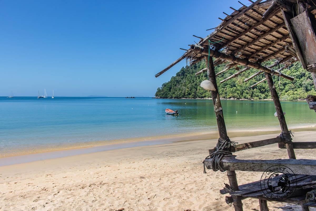 Ao Kwang Peeb (Monkey Bay) in Koh Phayam Thailand