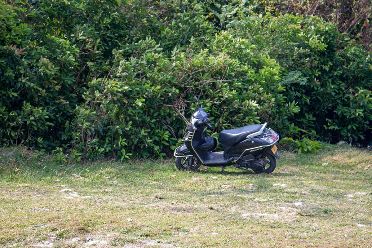 Biking around the islands in Andaman
