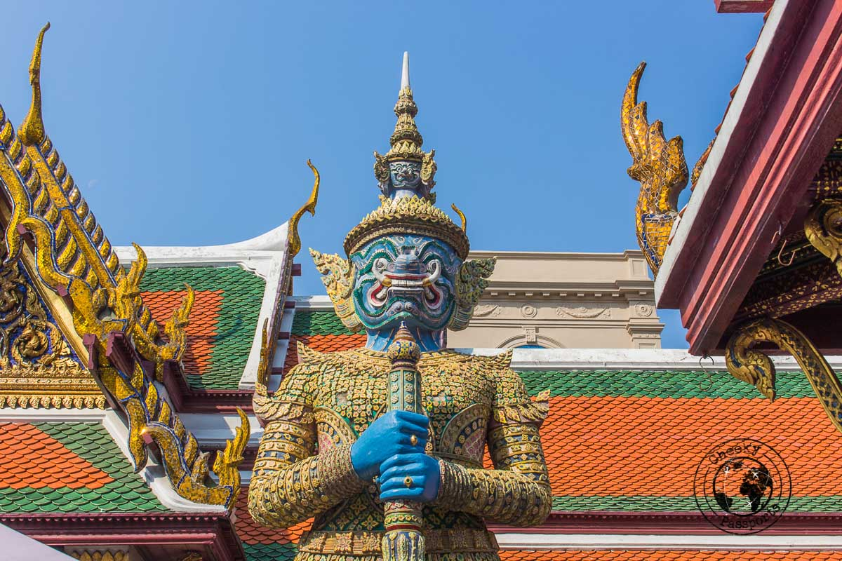 Detail of the Grand Palace