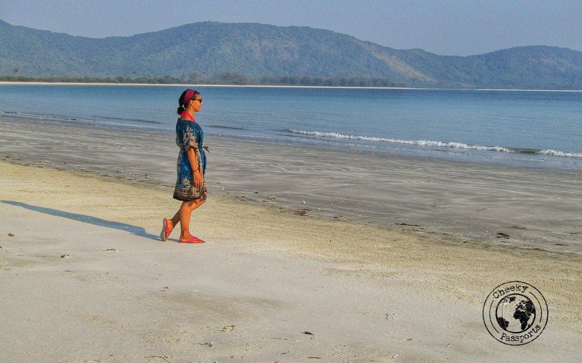 Enjoying the beaches of Dawei