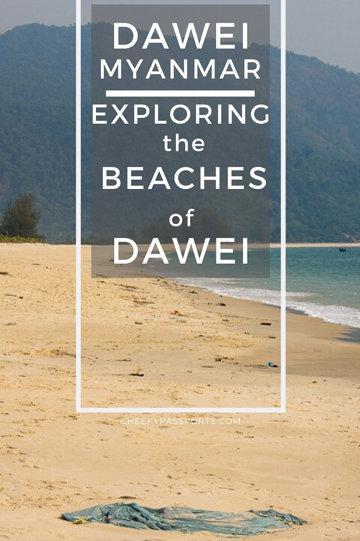 The beaches in Dawei and the Dawei Peninsula in southern Myanmar, are a wonderful tropical destination if you're looking for an undeveloped beach paradise! #myanmar #myanmartravel #beaches #remotebeaches