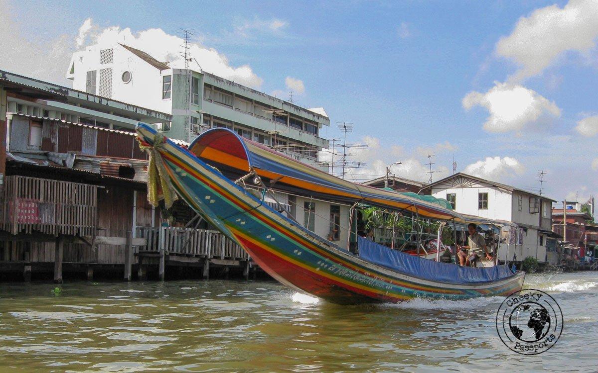 Ferry boats in Bangkok