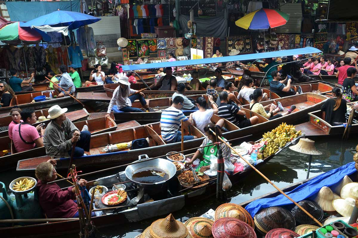 Floating Markets, photo credit Dean Moriarty