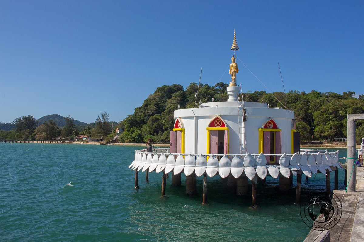 Floating shrine at Koh Phayam